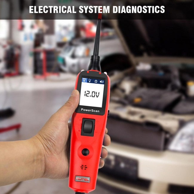 [Black Friday Sale] [US/EUR Ship No Tax] Autel PowerScan PS100 Automotive Electrical System Diagnostic Tool Read Digital AVOmeter Update Online
