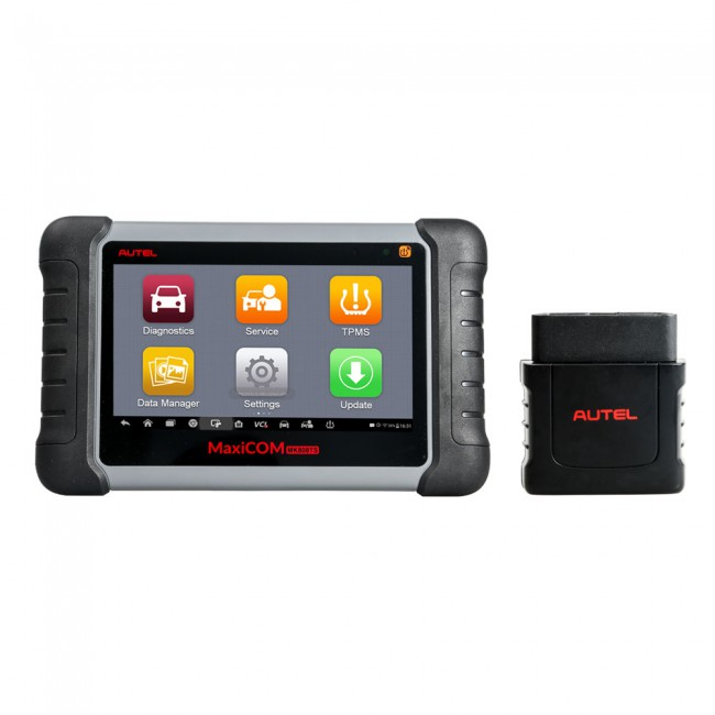 [US Ship No Tax] Autel MaxiCOM MK808TS Automotive Diagnostic Scanner TPMS and Sensor Diagnosis/ Programming All Systems Diagnose