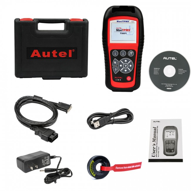 Autel MaxiTPMS TS601 TPMS Diagnostic and Service Tool TPMS Relearn/ Sensor Programming, Upgrade Version of TS501