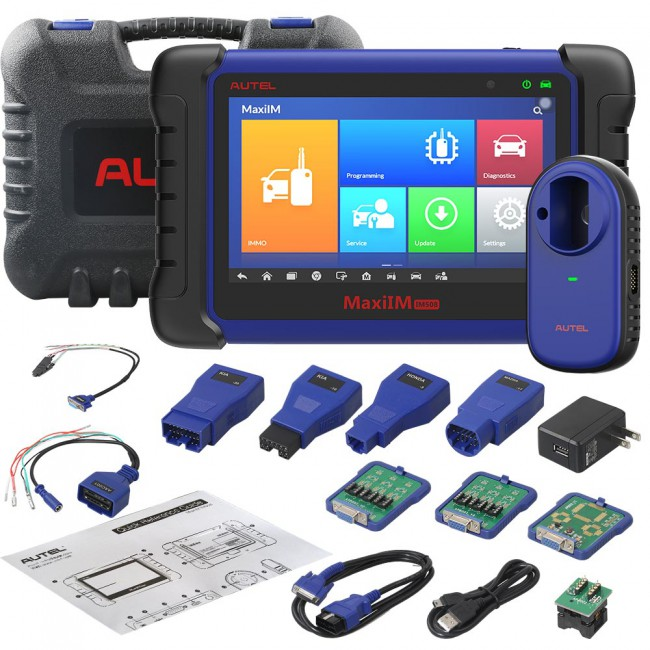 Autel MaxiIM IM508 Automotive Key Programming/ Diagnostic Tool with XP200 Key Adapter via Express Free Shipping (Don't Ship to UK,ES,PT)