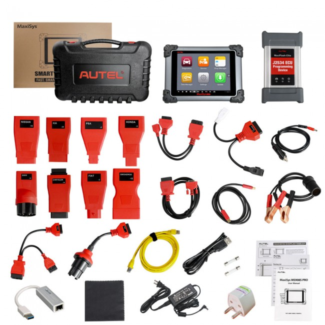 Autel MaxiSys MS908S Pro All System Diagnostic Scan Tool with J2534 ECU Programming and Coding Global Version (No IP Limitation)