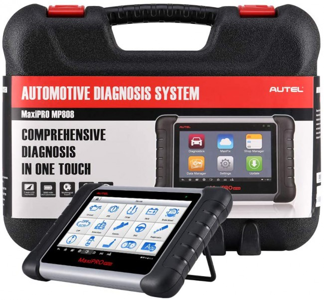 Autel MaxiPRO MP808 Automotive OBD2 Diagnostic Scanner All System OE-Level Diagnosis Upgrade Version of MaxiDAS DS808