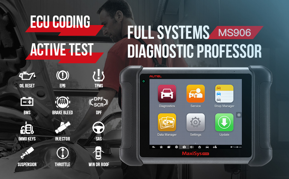 Autel MaxiSys MS906 Functions