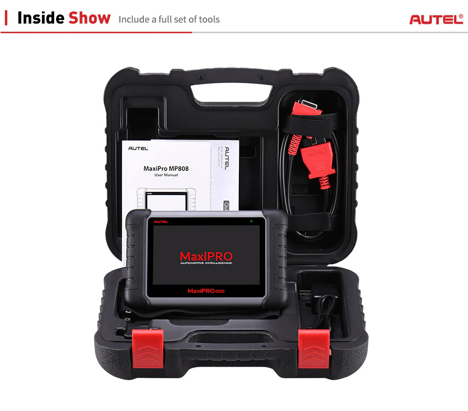 Autel MaxiPRO MP808 package