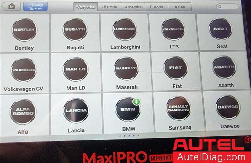 utel MP808TS BMW Diagnostic Software Download Failed-01